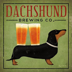 Dachshund Brewing Company Sign