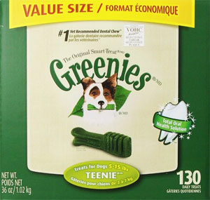 Dachshund's Love Teenie Greenies